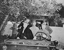 President Roosevelt & US Troops, Casablanca Photo Print for Sale