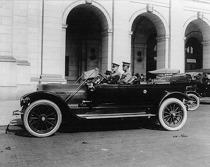 President Taft Antique Car, Union Station Photo Print