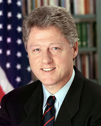 President William 'Bill' Clinton Portrait Photo Print