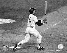 Reggie Jackson NY Yankees 1977 World Series Photo Print for Sale