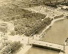 River Seine in Paris 1915 Photo Print for Sale