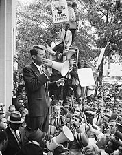 Robert F Kennedy Civil Rights Demonstration Photo Print for Sale