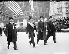 Robert Guggenheim at Taft Parade 1908 NYC Photo Print for Sale