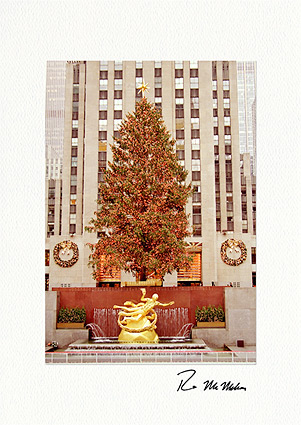 Rockefeller Center, New York City Christmas Boxed Greeting Cards
