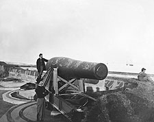Rodman Gun Cannon, Fort Monroe, Civil War Photo Print for Sale