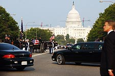 Ronald Reagan Funeral Procession Capitol Photo Print for Sale