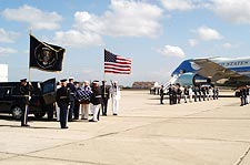 Ronald Reagan Funeral Transfer to Aircraft Photo Print for Sale