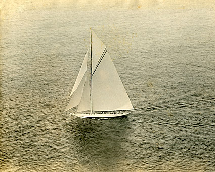 Sailboat on San Francisco Bay 1925 Photo Print