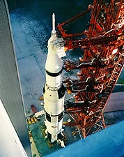 Saturn 5 Apollo 12 Booster Photo Print for Sale