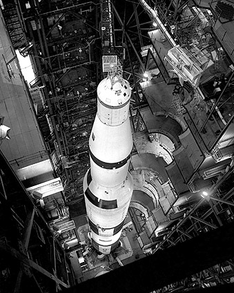 Saturn V Rocket Apollo 11 on Launchpad Photo Print