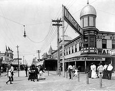 Seaside Avenue Rockaway New York 1903 Photo Print for Sale