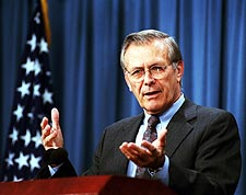 Secretary of Defense Donald Rumsfeld Photo Print for Sale