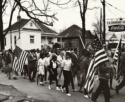 Selma to Montgomery Civil Rights March 1965 Photo Print