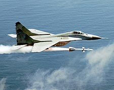Soviet MiG-29 Fulcrum Fighter Jet Air Force Photo Print for Sale