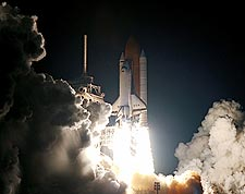 Space Shuttle Columbia STS-93 Launch NASA Photo Print for Sale