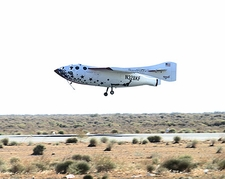 SpaceShipOne 1st Flight Into Space Photo Print