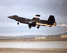 SR-71 Blackbird Afterburner Takeoff Photo Print for Sale