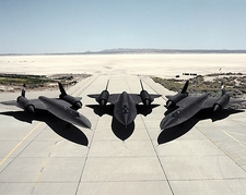 SR-71 Blackbird Trio Photo Print