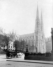 St. Patrick's Cathedral New York City 1894 Photo Print for Sale