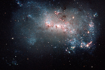 Starburst Star Formation Hubble Space Telescope Photo Print