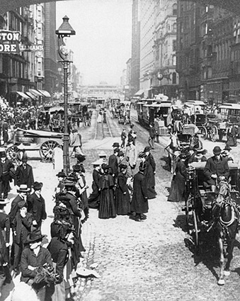 State Street in Chicago 1903 Photo Print