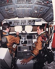 STS-1 Space Shuttle Columbia Cockpit Photo Print for Sale