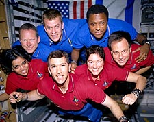 STS-107 Space Shuttle Columbia Lost Crew Photo Print for Sale