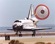 STS-111 Space Shuttle Endeavour Landing Photo Print for Sale