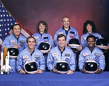 STS 51-L Space Shuttle Challenger Crew Photo Print for Sale