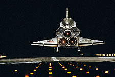 STS-72 Space Shuttle Endeavour Landing Photo Print for Sale