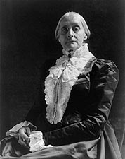 Susan B. Anthony Portrait  Photo Print for Sale