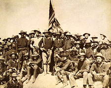 Teddy Roosevelt & Rough Riders 1898 Photo Print for Sale