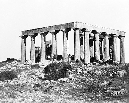 Temple of Aphaea Aegina Island Greece Photo Print