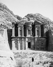 Temple of Ed-Deir Petra Jordan 1900s Photo Print