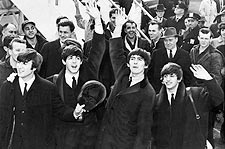 The Beatles Arrive at JFK Airport 1964 Photo Print for Sale