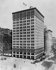 The Everett Building, New York City 1909 Photo Print for Sale
