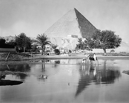 The Great Pyramid, Pyramids of Giza Egypt Photo Print