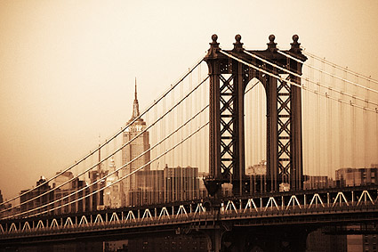 The Manhattan Bridge New York City Photo Print