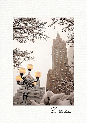 The Sherry-Netherland, New York City Personalized Christmas Cards