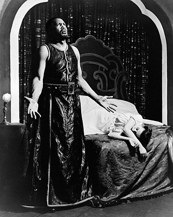 Theatre Guild Production Othello 1940s Photo Print