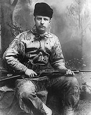 Theodore Teddy Roosevelt the Hunter 1885 Photo Print for Sale