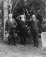 Thomas Edison, John Burroughs & Henry Ford Photo Print for Sale