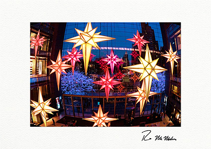 Time Warner Center Christmas Lights NYC Boxed Holiday Cards