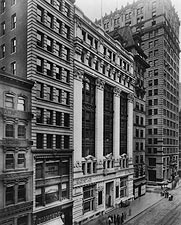Title Guarantee & Trust Building NYC 1906 Photo Print for Sale
