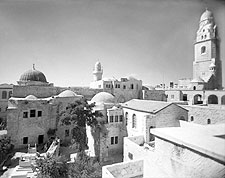 Tomb of King David Jerusalem Israel 1940s Photo Print for Sale