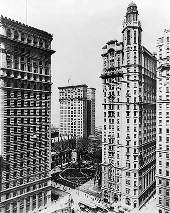 Trinity and U.S. Realty Building NYC 1913 Photo Print
