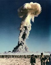 Tumbler-Snapper Nuclear Bomb Nevada Test Photo Print for Sale