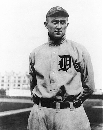 Ty Cobb Detroit Tigers Baseball Portrait Photo Print