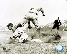 Ty Cobb Slide Detroit Tigers Baseball Photo Print