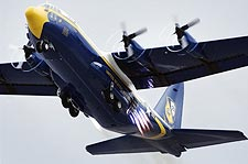 U.S. Navy Blue Angels C-130 'Fat Albert' Photo Print for Sale